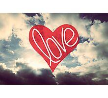 Love: Sky Photographic Print