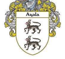 Ayala Coat of Arms/Family Crest by William Martin