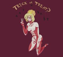 Female titan -  Trick or Treat? (noraml ver.) by Crescent-S