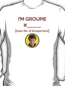 """I'm Groupie Number.... "" Joss Whedon's Dr. Horrible - Dark T-Shirt"