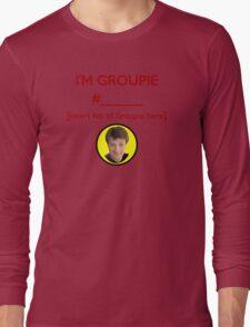 """I'm Groupie Number.... "" Joss Whedon's Dr. Horrible - Dark Long Sleeve T-Shirt"