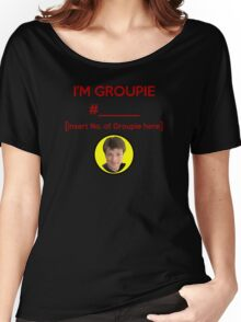 """""""I'm Groupie Number.... """" Joss Whedon's Dr. Horrible - Dark Women's Relaxed Fit T-Shirt"""