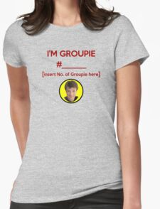 """""""I'm Groupie Number.... """" Joss Whedon's Dr. Horrible - Dark Womens Fitted T-Shirt"""