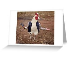 Hen Solo Greeting Card