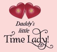 Daddy's little Time Lady! One Piece - Short Sleeve