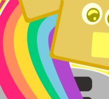Kawaii Rainbow Toast Sticker