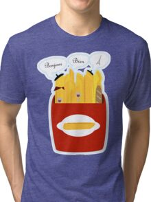 French Fries Tri-blend T-Shirt