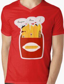 French Fries Mens V-Neck T-Shirt