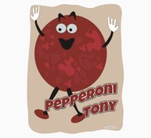 Pepperoni Tony by mytshirtfort