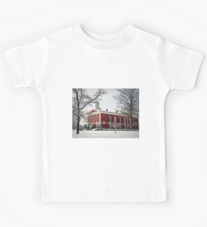 Courthouse in the Snow Kids Tee