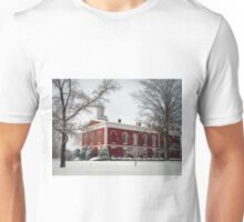 Courthouse in the Snow Unisex T-Shirt