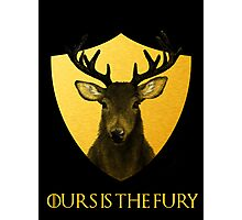 Baratheon Sigil Photographic Print