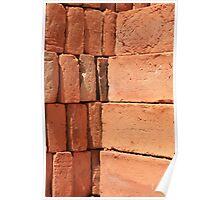 Adobe Brick Pile Poster