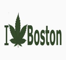 0102 I Love Boston  by Ganjastan