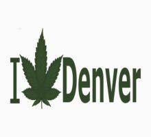 0104 I Love Denver by Ganjastan