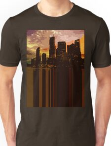 City Scape Cut Out Unisex T-Shirt