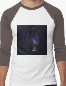 Blues in black - Jazz Trumpet Men's Baseball ¾ T-Shirt
