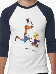 Calvin and Hobbes Jak And Daxter Men's Baseball ¾ T-Shirt
