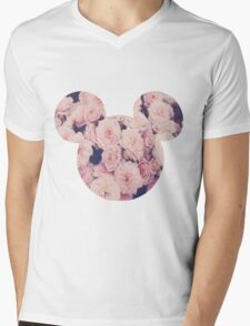 Mickey!? Mens V-Neck T-Shirt