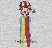 Sam Winchester really hates clowns.  by IamChibivillage
