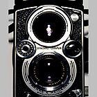 Classic Rolleiflex Medium Format Film Camera  by Framerkat