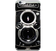 Classic Rolleiflex Medium Format Film Camera  iPhone Case/Skin