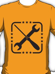 Screwdriver And Wrench Craftsman Design T-Shirt