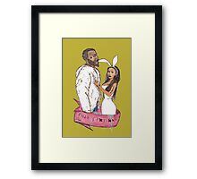 pills and potions. Framed Print