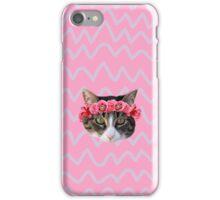 Kitty Cat Flower Crown iPhone Case/Skin