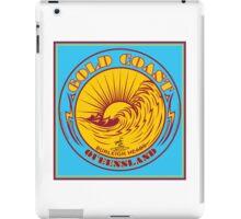 GOLDCOAST, QUEENSLAND, SURFING iPad Case/Skin