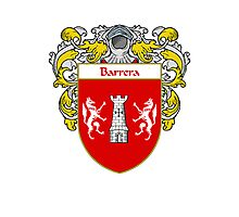 Barreno Coat of Arms/Family Crest Photographic Print