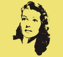 Rita Hayworth Is Divine T-Shirt by Museenglish