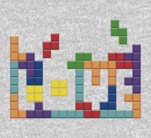 Tetris Love Kids Clothes