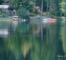 Reflecting on Horseshoe Lake by Kathleen Hamilton