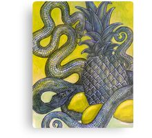 The Sweet and the Sour (Still Life with Snakes) Metal Print