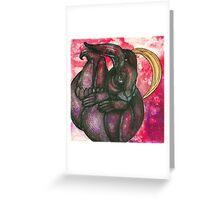 The Rabbit's Dream Greeting Card