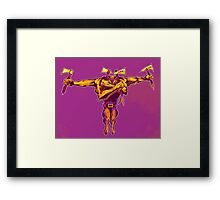 T is for Tomahawk Tommy Framed Print