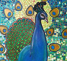 Regalia (The Peacock) by Lynnette Shelley