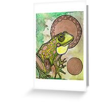 Golden Ball (The Frog Prince) Greeting Card