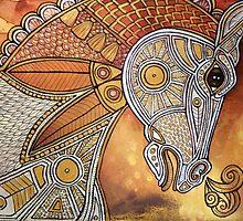 Carousel Runner by Lynnette Shelley