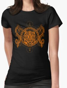 Mystic Tiger Womens Fitted T-Shirt