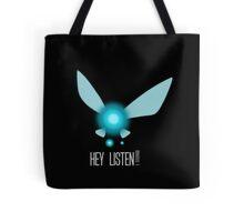 Navi Hey Listen! (Zelda) Tote Bag