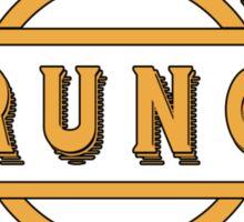Seattle Grunge Sticker