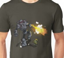 Chicks Dig Giant Robots Unisex T-Shirt