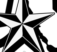 Cali Star Sticker