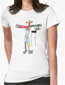 Five-year-old Voltron Womens Fitted T-Shirt