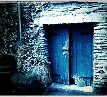 Blue door by geophotographic