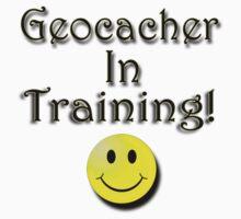 Geocacher in training! by Missryerye