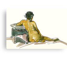 Back Rest Canvas Print