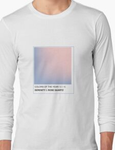 PANTONE 2016 COLORS OF THE YEAR Long Sleeve T-Shirt